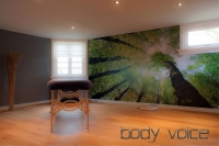 Interieur van Body Voice